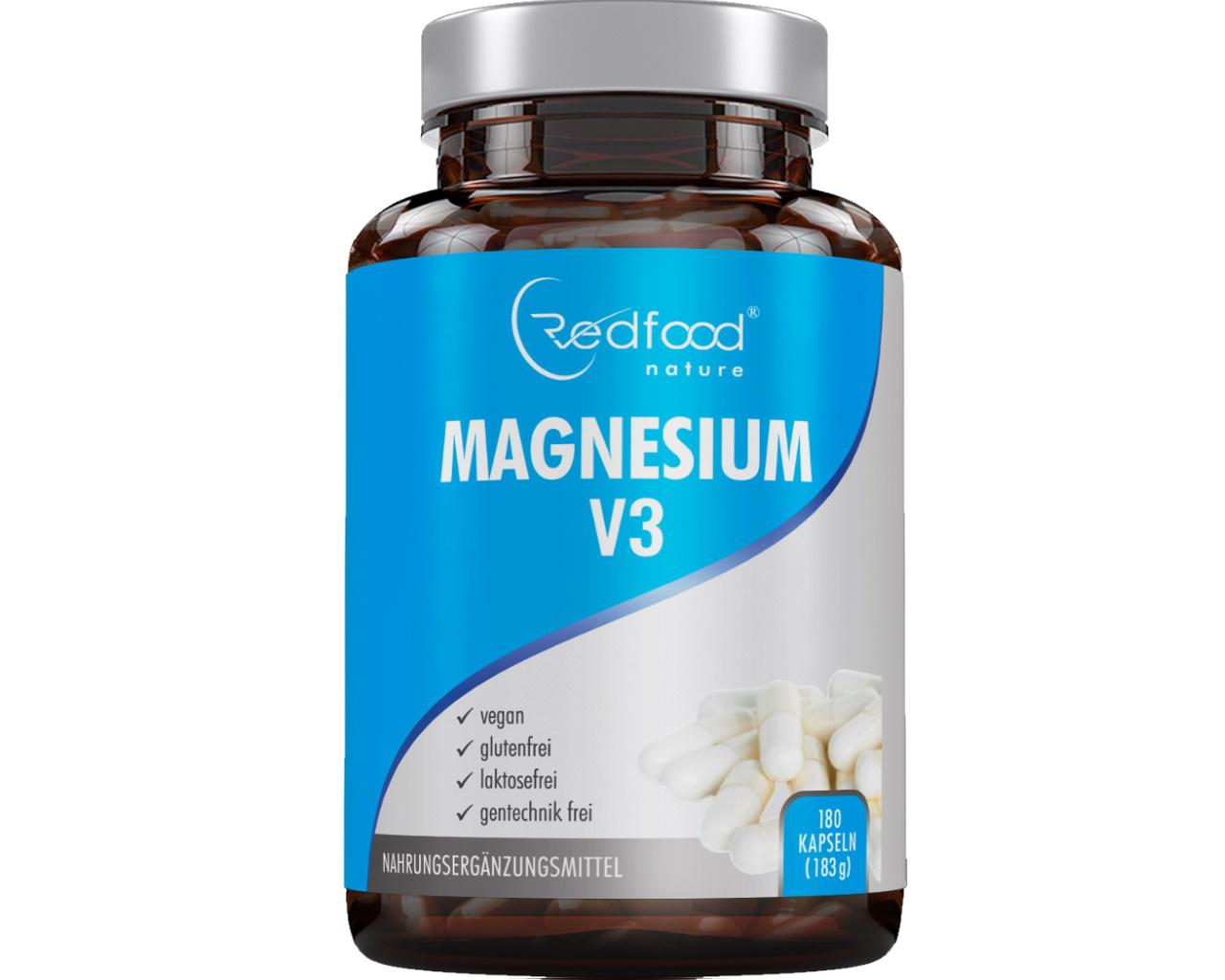 Magnesium V3 - 180 Kapseln ⭐NEU⭐