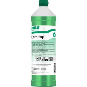 FALA Lamitop Bodenreiniger, Reinigung von Laminat-, Parkett-, Kork-, Holzböden, 1000 ml - Flasche