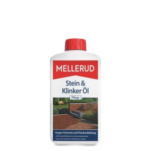 MELLERUD Stein & Klinker Öl Pflege, Schützt und unterstreicht die Optik, 1000 ml - Flasche