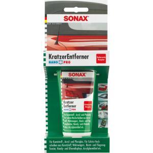 SONAX KratzerEntferner Kunststoff NanoPro, Hochleistungspolitur mit Nanotechnologie, 75 ml - Tube