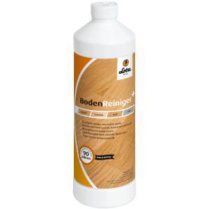 LOBA LOBACARE BodenReiniger+, Reiniger entfernt auch hartnäckigste Verschmutzungen, 1 Liter - Flasche