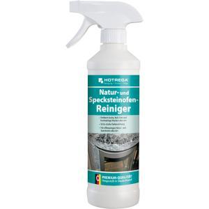 HOTREGA® Natur- und Specksteinofen-Reiniger, Tiefenwirksamer, gebrauchsfertiger Reiniger, 500 ml - Sprühflasche