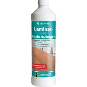 HOTREGA® Laminat- und Parkettreiniger, Rutschhemmend und pflegend, 1000 ml - Flasche