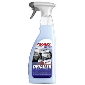 SONAX XTREME BrilliantShine Detailer Lackpflege, Die schnelle Lackpflege für zwischendurch, 750 ml - Sprühflasche