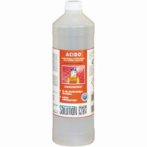 Solution Charly Acido sauer Bodenreiniger, CHARLY Super-Mop-Bodenreiniger ACIDO, 1000 ml - Flasche