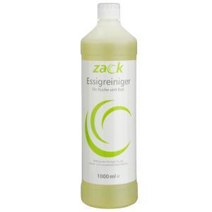 ZACK Essigreiniger, Für alle wasser- & säurebeständigen Flächen, 1000 ml - Flasche