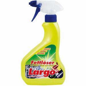Largo Fettlöser, Für Küche, Haus und Hobby, 1 Sprayflasche = 500 ml