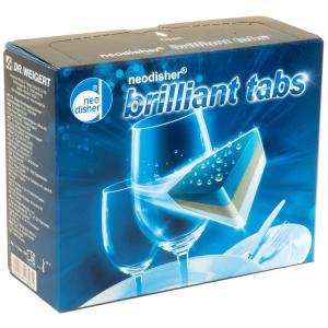 Dr. Weigert neodisher brilliant Tabs Gschirrreinigertabs, Reinigungstabletten für das maschinelle Geschirrspülen, 1 Packung = 60 Tabs á 20 g