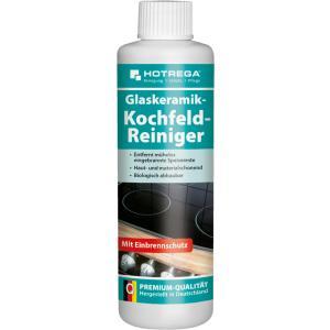 HOTREGA® Glaskeramik-Kochfeld-Reiniger, Entfernt mühelos eingebrannte Speisereste, 250 ml - Flasche