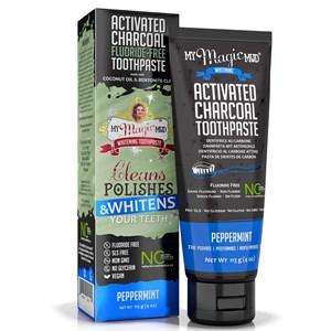My Magic Mud Zahnpflege Bleaching Zahnpasta aus Aktivkohle 113 g