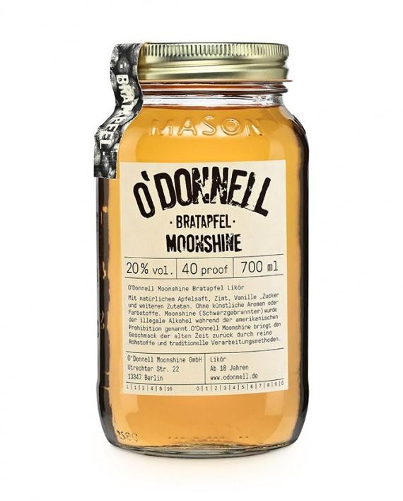 O´Donnell Moonshine Bratapfel 0,7l 20%vol