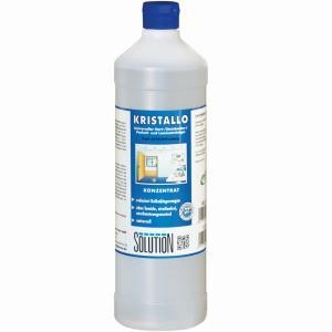 Solution Kristallo Unterhaltsreiniger, Hochkonzentrierter alkalischer Unterhaltsreiniger, 1000 ml - Flasche