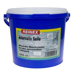 Reinex Alternativ-Seife, neutrale Waschcreme, 5 l - Eimer