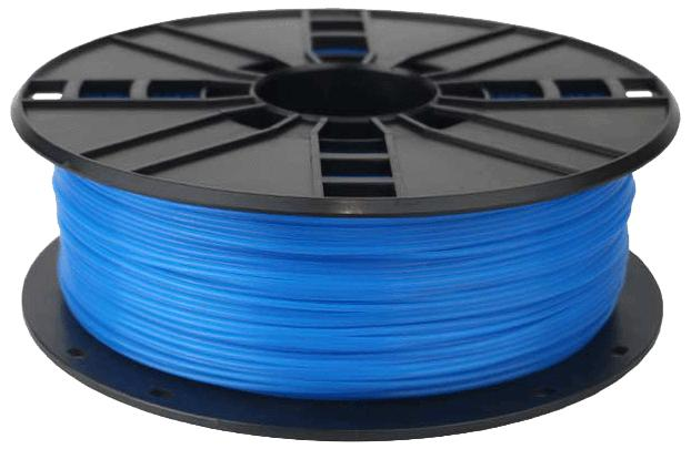 WhiteBOX 3D-Filament ABS blau phosphoreszierend schwarz 1.75mm 1000g Spule