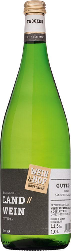 Wein & Hof Hügelheim GUTEDEL trocken 1L