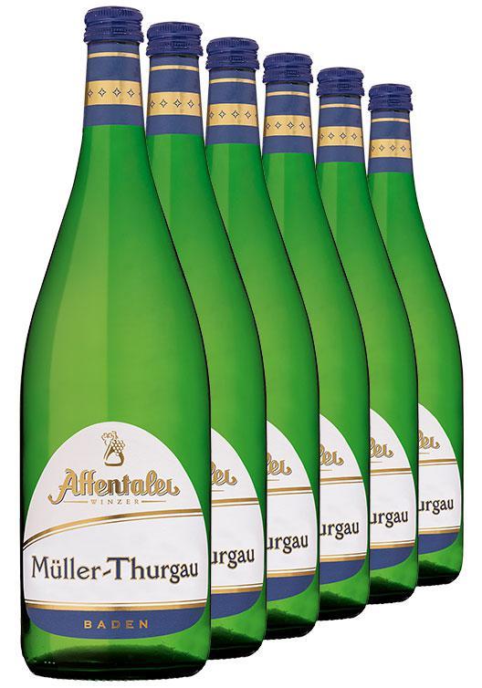Affentaler Winzer 2018 Müller-Thurgau 1L QbA (6 Flaschen)