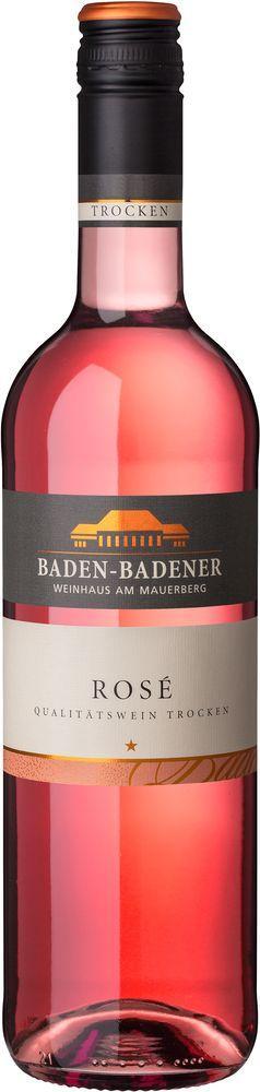 Baden-Badener Weinhaus am Mauerberg 2019 Rosé QbA trocken