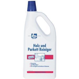 Dr. Becher Holz und Parkett Reiniger, Holzreinigungsmittel auf Seifenbasis mit Nikotinlöser, 2 Liter - Flasche