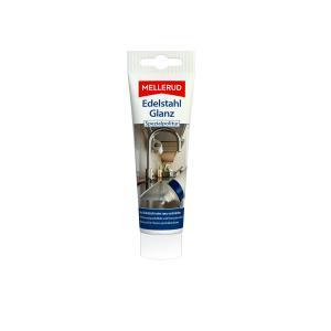 MELLERUD Edelstahl Glanz Spezialpolitur, Polierpaste entfernt hartnäckige Verschmutzungen, 75 ml - Tube