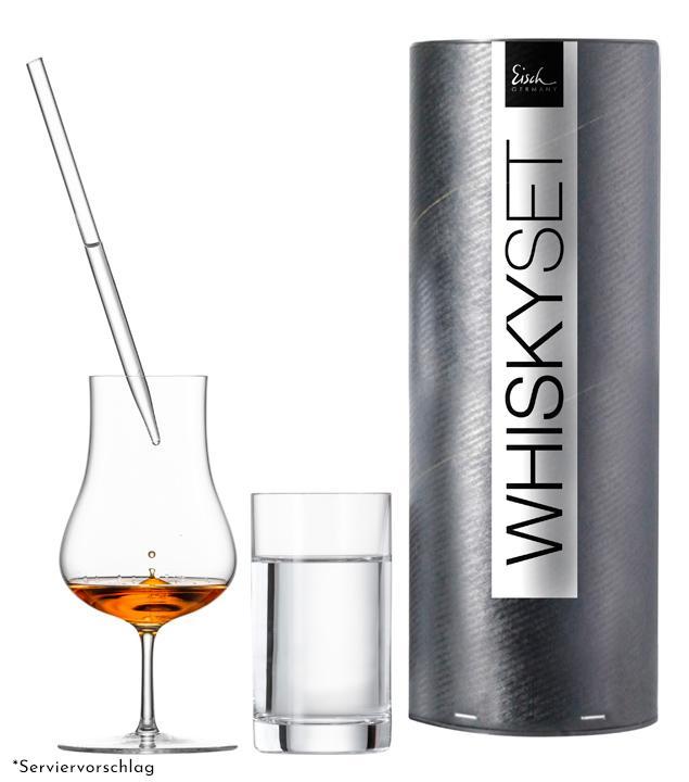 Eisch Whisky-Geschenkset Malt Whisky