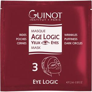 Guinot Gesichtspflege Masken Age Logic Eye Mask Box 4x Mask Sachet 1 Stk.
