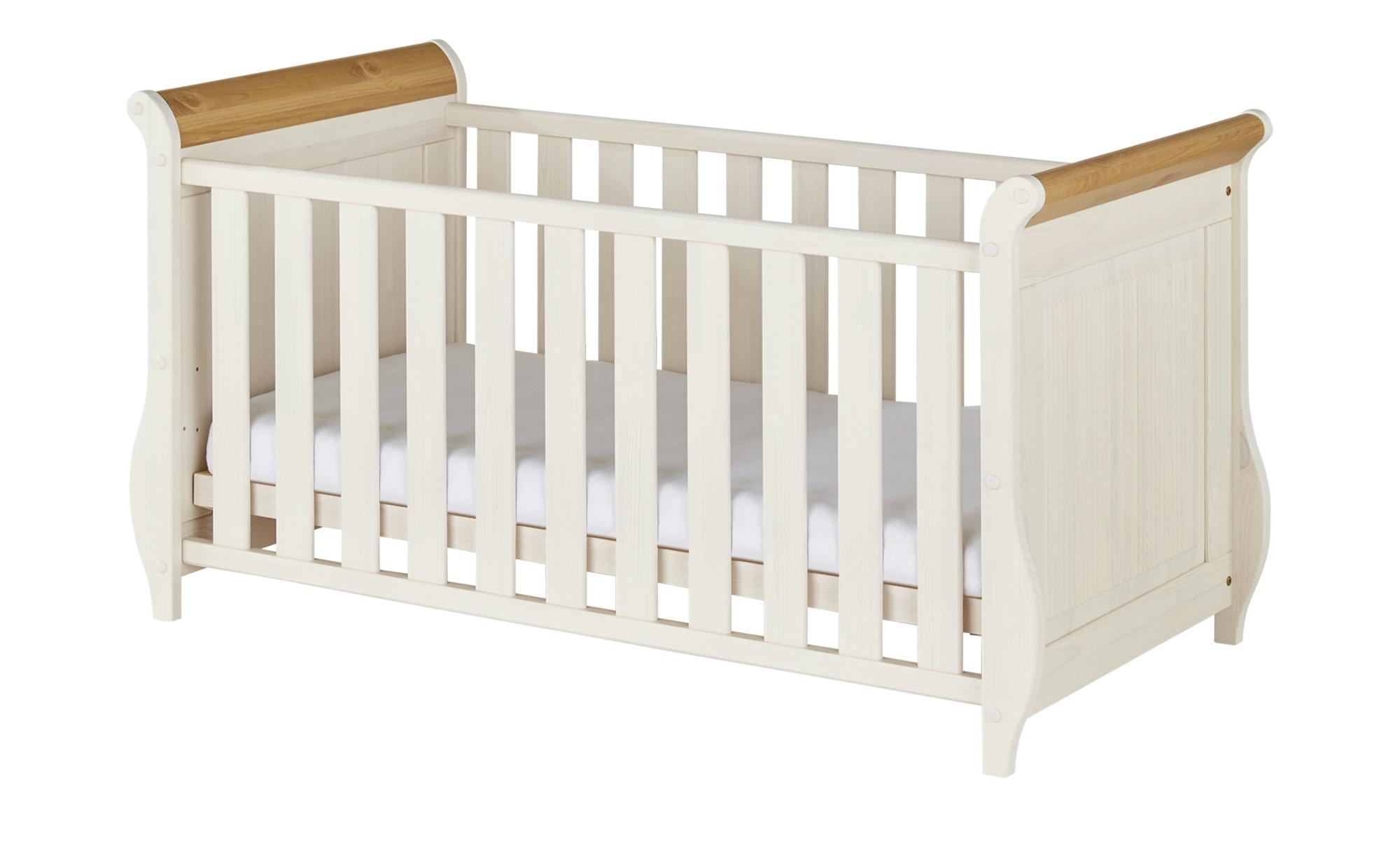 Kinderbett Helsinki - weiß - Sconto