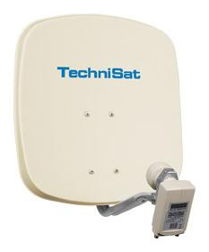 Technisat DigiDish 45 + Twin LNB, Sat-Antenne