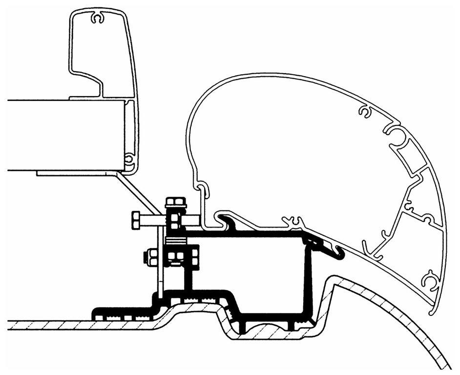 Thule Omnistor Adapter Mercedes Sprinter