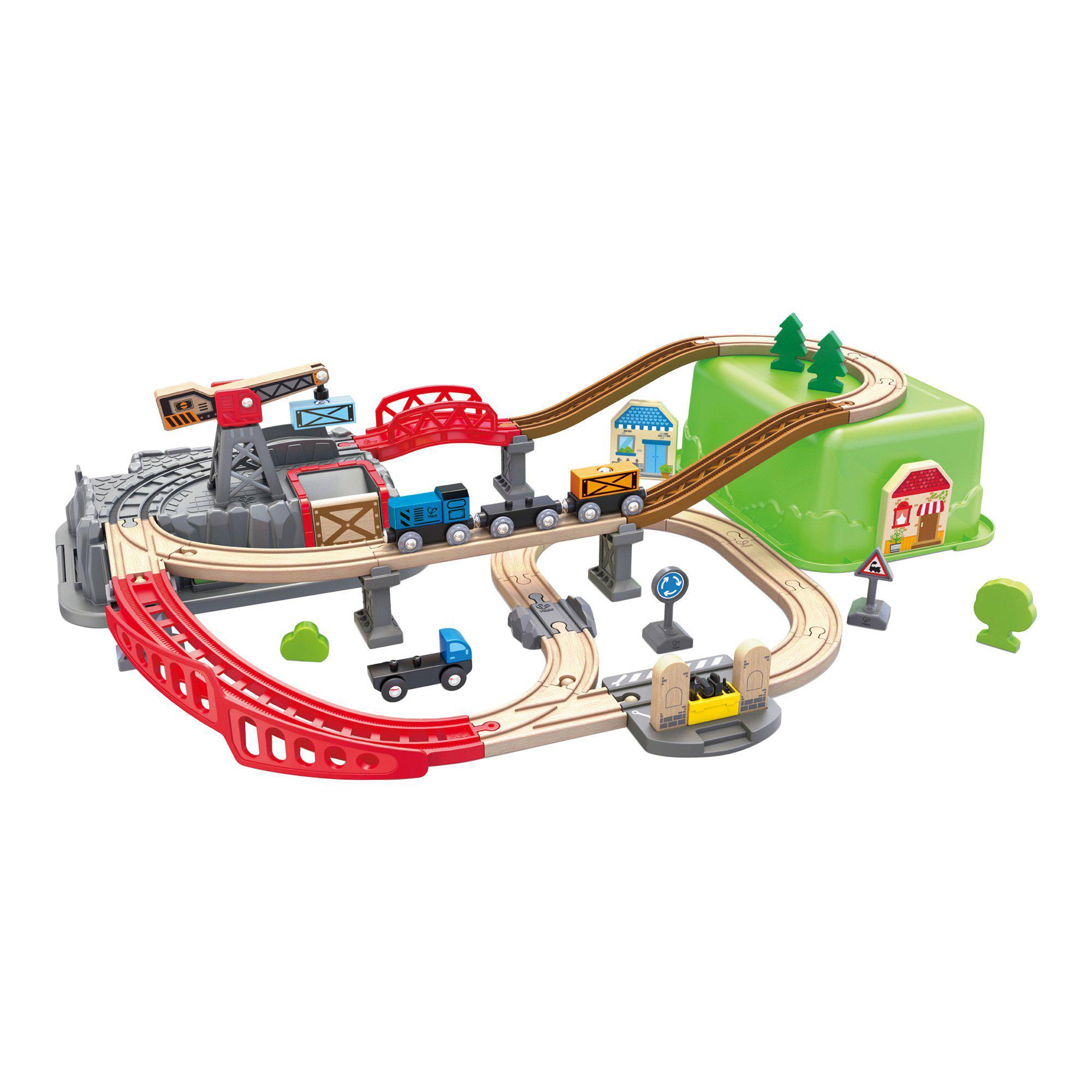 Eisenbahn Baukasten-Set