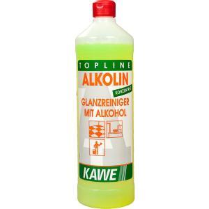 KAWE Alkolin Glanzreiniger mit Alkohol, Alkoholglanzreiniger, 1000 ml - Flasche