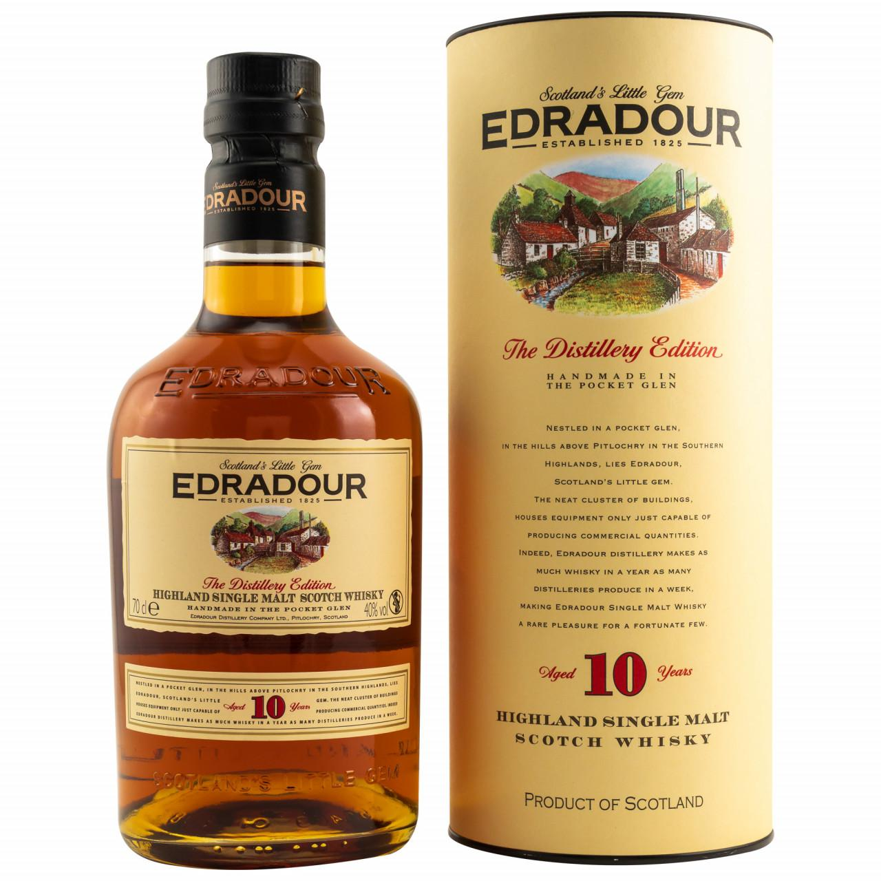 Edradour Aged 10 Years Distillery Edition 0,7l 40%vol.