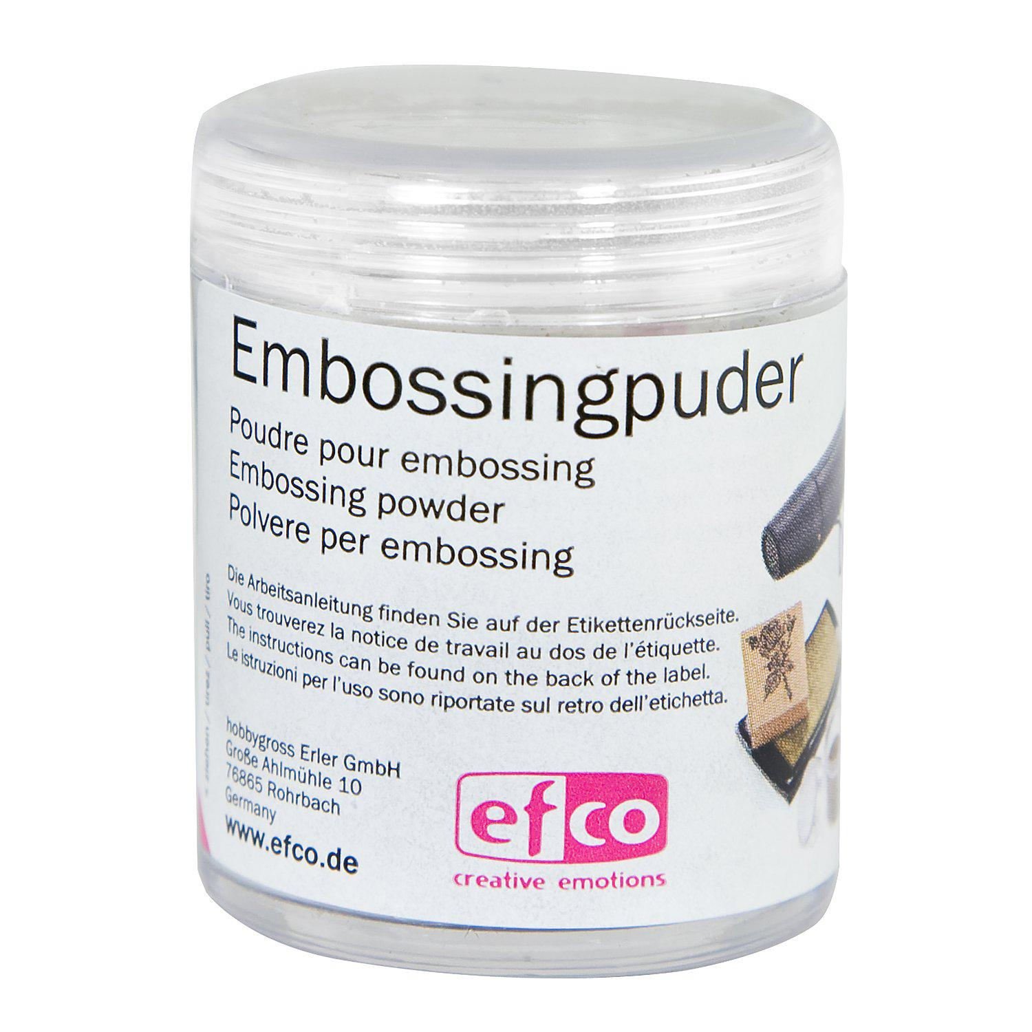 Embossing-Puder, weiß, 10 g