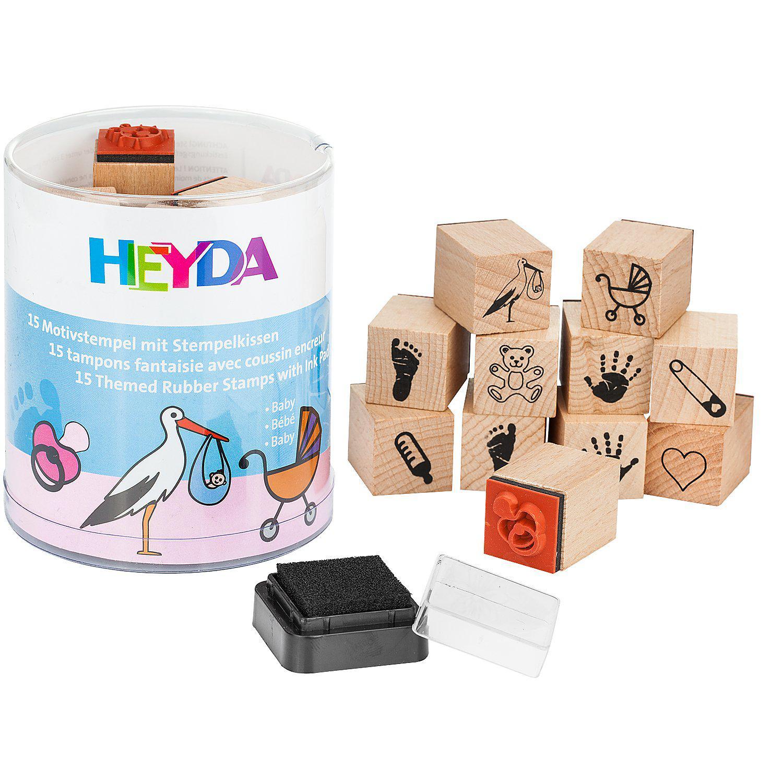 Heyda Stempel-Set