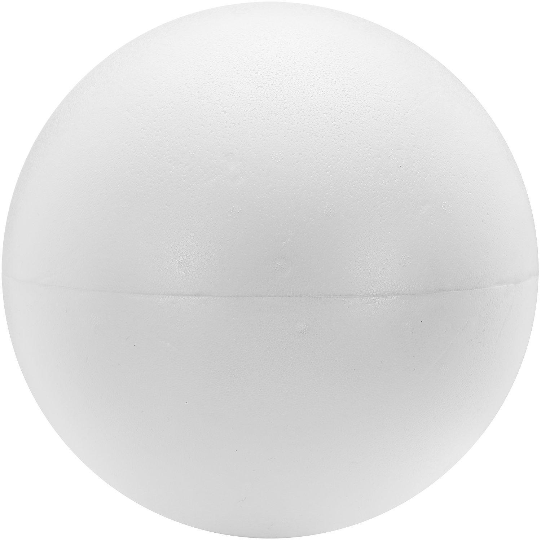 Styropor-Kugel, 30 cm Ø, teilbar