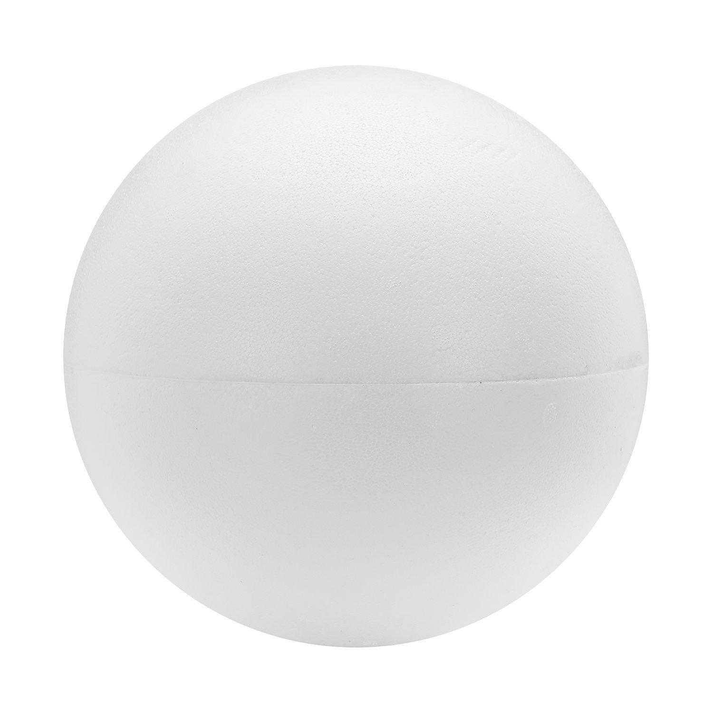 Styropor-Kugel, 25 cm Ø, teilbar