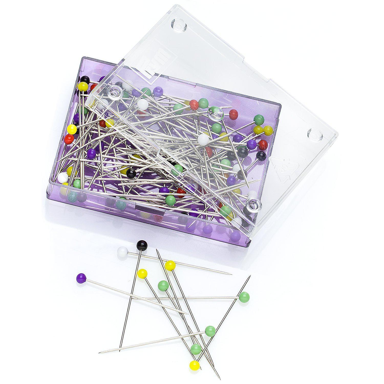 Prym Glaskopfstecknadeln, Länge: 30 mm, Inhalt: 10g = ca. 100 Stück