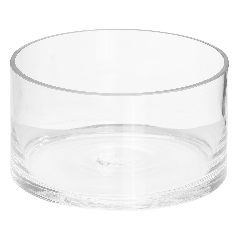 Glasschale, rund, 11 cm, 20 cm Ø