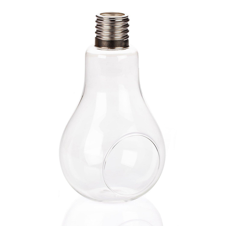 Glühbirne aus Glas zum Stellen, 21 x 13 cm
