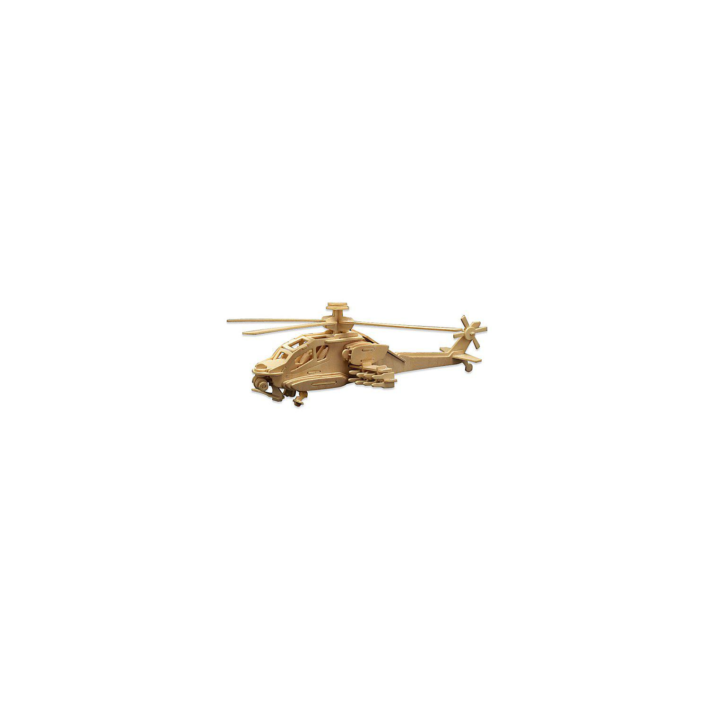 Holzbausatz Helikopter, 40 x 13 cm
