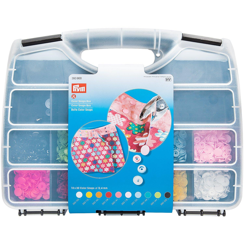 Prym Color Snaps Box, mit 300 Color Snaps