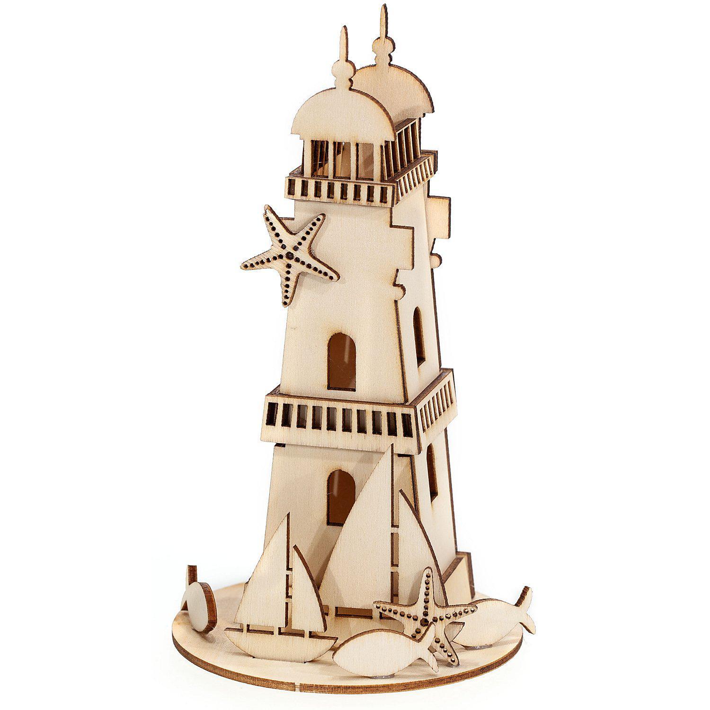 "Holzbausatz ""Leuchtturm"