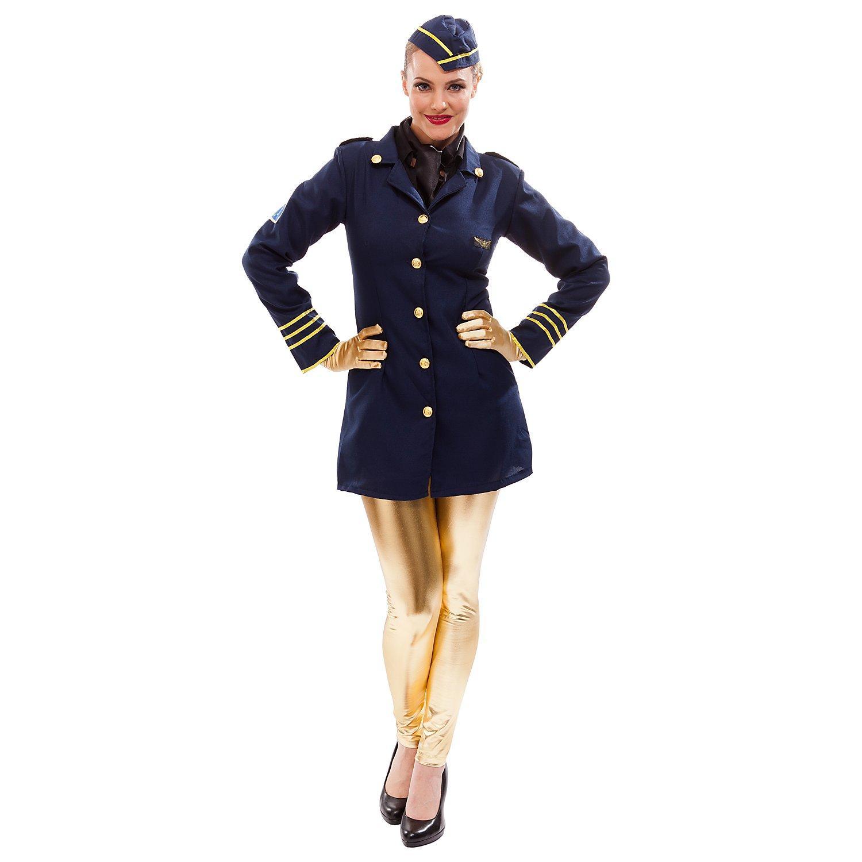 Stewardess-Kostüm für Damen
