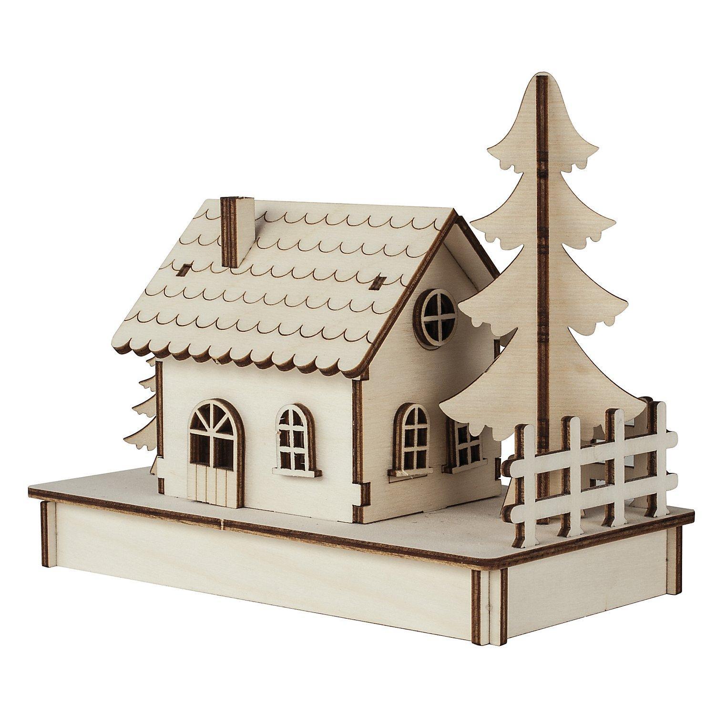 Holzbausatz 1 Häuschen
