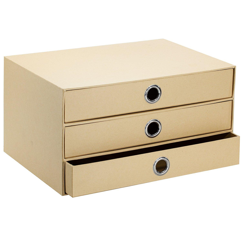 Aufbewahrungsbox aus Pappe, 35 x 25 x 19 cm