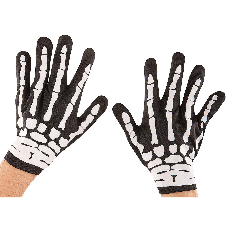 Skelett Handschuhe für Herren