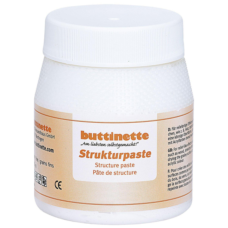 buttinette Strukturpaste, glatt