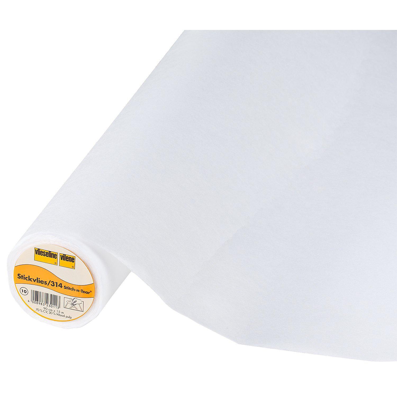 Vlieseline ® Stickvlies 314, weiß, 40 g/m²