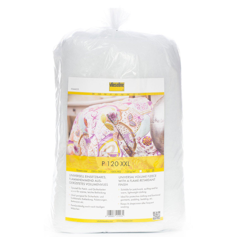 Vlieseline ® Volumenvlies P 120 XXL, weiß, 120 g/m², 300 x 250 cm