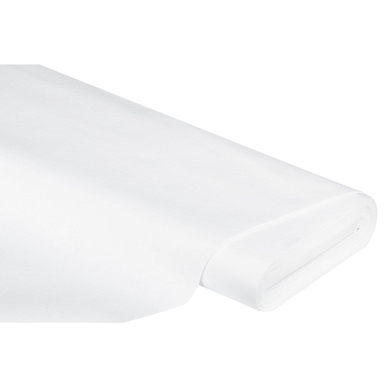 Filz, Stärke 2 mm, weiß