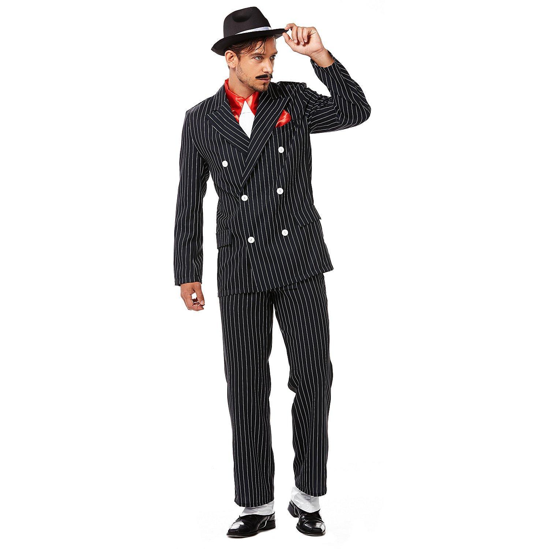 Anzug Giovanni, schwarz/weiß